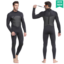 Shark Bart 2019 1.5mm Diving Suit Conjoined Long Sleeve Swimming Suit Professional Snorkeling Suit Warm and Cold-proof Clothing