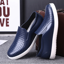 Low water shoes, men's youth, short boots, fashion, waterproof, antiskid kitchen shoes, rubber shoes, chef's work shoes.