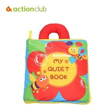 Designer Baby Cloth Quiet Book Baby Toys Infant Fabric Activ
