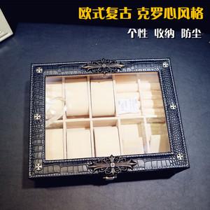 个性创意男士手表收纳盒腕表包装礼品欧式<span class=H>首饰</span>盒<span class=H>饰品</span>盒礼品表盒