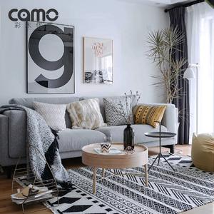 彩木优居 北欧<span class=H>沙发</span>布艺三人位小户型现代简约客厅整装乳胶 诺可布