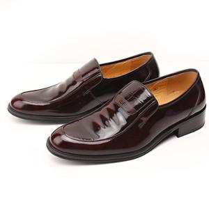 头层<span class=H>牛皮</span>真皮!男士亮面皮鞋商务正装结婚鞋新郎鞋漆皮胖脚宽<span class=H>男鞋</span>