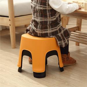 加厚排排小凳子塑料板凳家用儿童凳防滑踩脚胶凳脚踏宝宝<span class=H>矮凳</span>洗澡