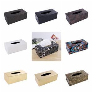 欧式皮革纸金盒纸巾盒布艺纸抽盒塑料餐巾纸餐厅<span class=H>餐桌</span>家居纸巾袋纸
