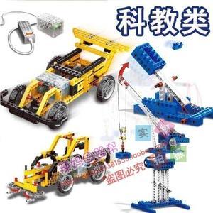 兼容乐高科技系列机械组电动玩具<span class=H>电子</span>积木机器人ev3<span class=H>教育</span>课程教具