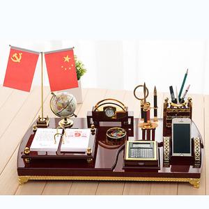 高档办公室<span class=H>摆件</span>文台商务总经理老板桌面装饰招财开业领导创意礼品