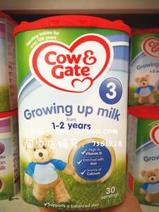 英国直邮牛栏3段Cow&Gate三段进口婴儿牛<span class=H>奶粉</span>1-2岁1+正品代购视频