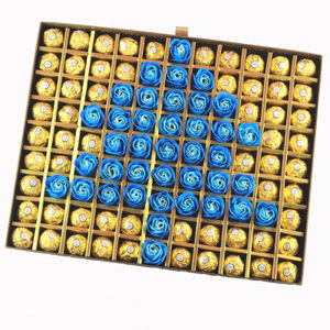 包邮 <span class=H>费列罗</span>玫瑰花99<span class=H>巧克力</span>礼盒装 特殊款520节圣诞树生日送礼物