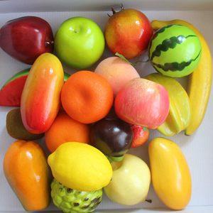 仿真水果摆件套装轻款假水果蔬菜水果<span class=H>道具</span>水果模型茶几摆放装饰品