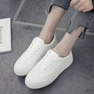 小白鞋女鞋2018春季百搭韩版1992白鞋学生2017新款帆布休闲板<span class=H>鞋子</span>