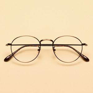 平光镜复古眼镜框女韩版潮 文艺圆框小脸<span class=H>眼睛框</span>镜架男配近视个性