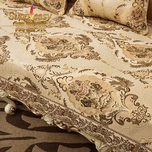 欧式沙发垫 布艺沙发<span class=H>坐垫子</span>四季通用时尚防滑沙发巾沙发套