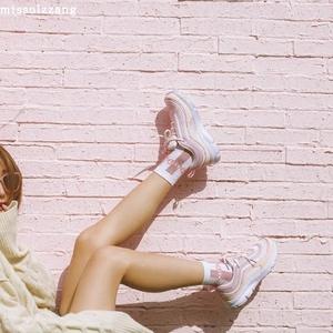 原宿ulzzang复古运动鞋女ins超火的韩版软妹zipper鞋1992鞋跑步鞋